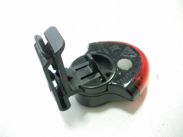 リアライト レッドライトⅡ クリップのみ対応 CR2032×2枚 点灯・点滅