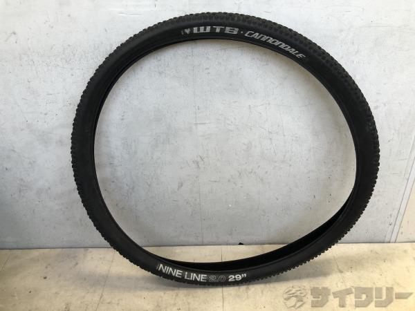 タイヤ NINE LINE 29×2.0 CANNONDALEロゴ