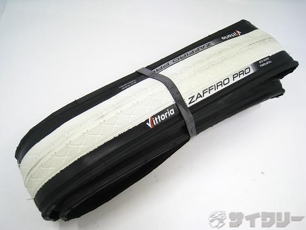 クリンチャータイヤ ZAFFIRO PRO 700x23c ホワイト