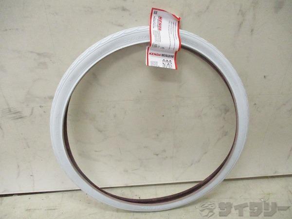 クリンチャータイヤ 24x1.25 ホワイト