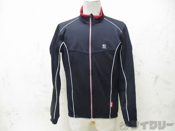 長袖フルジップジャケット WINDBREAK サイズ:L ブラック