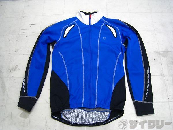 ウインタージャケット サイズ:L ブルー/ブラック