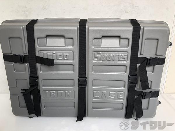 輪行用ハードケース  iron case グレー