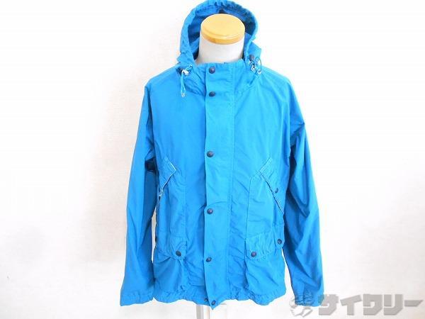 サイクルジャケット field jacket ブルー ※変色・腐食有