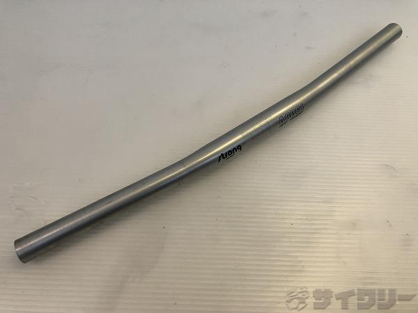 フラットバーハンドル HEAT TREATED 約490mm(実測)/25.4mm ※カットあり