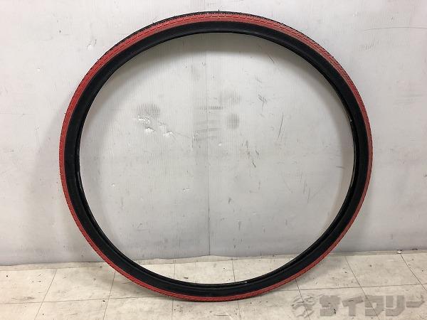クリンチャータイヤ 26×1 3/8(590) レッド