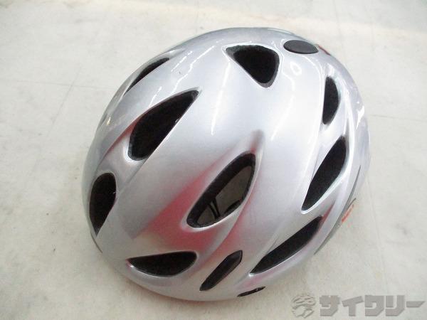 ヘルメット グレー サイズ:54-61cm