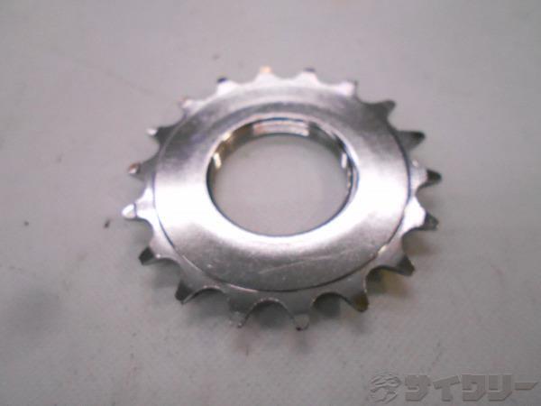 固定コグ シルバー 薄歯(2.1mm厚) 18T