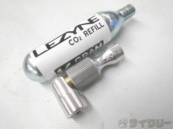 CO2インフレーター TRIGGER SPEED DRIVE CO2 16G