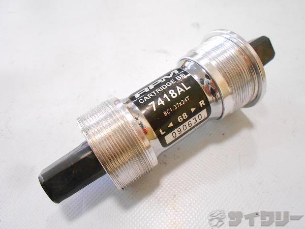 ボトムブラケット 7418AL JIS/68mm 軸長:115mm スクエア