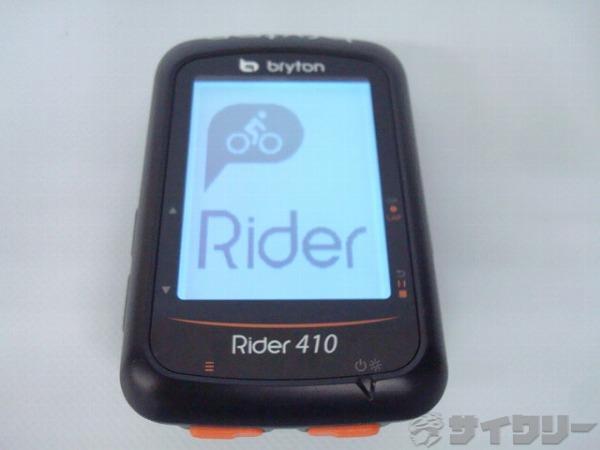 GPS サイクルコンピューター (本体のみ) GPS Rider410