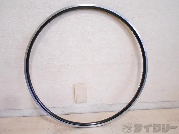 リム ブラック 700C 内幅実測:15.3mm クリンチャー 24H