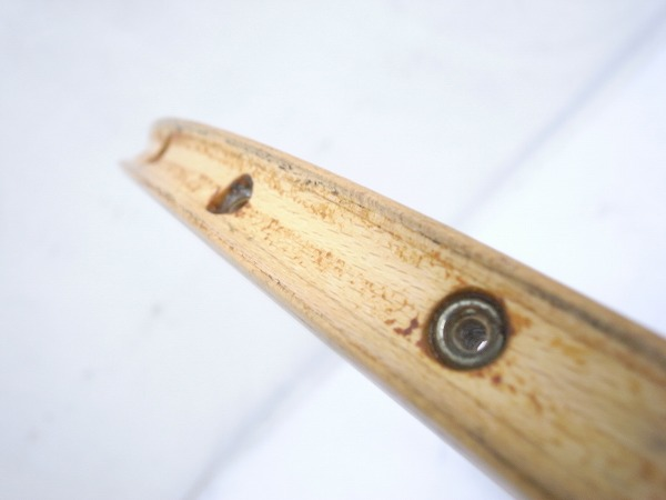木製チューブラーリム