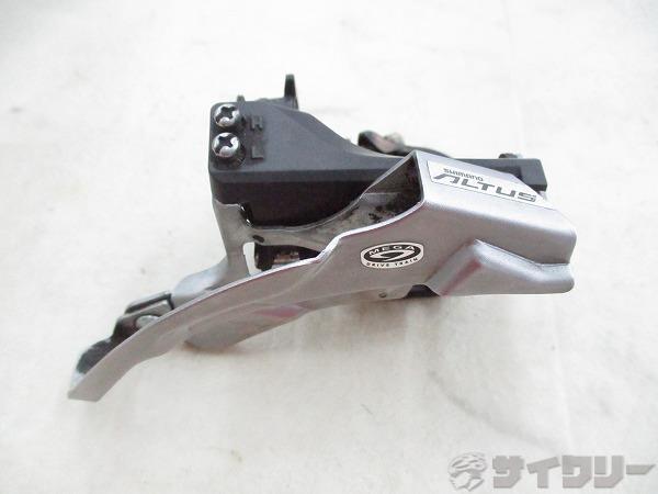 フロントディレイラー FD-M370 ALTUS 3s φ34.9mm(31.8mmシム付)