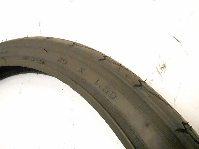 クリンチャータイヤ 20x1.5