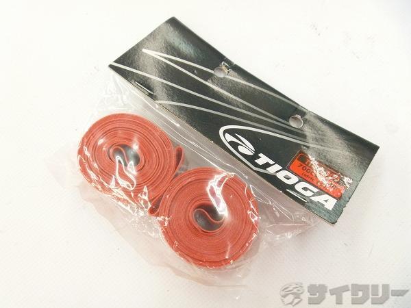 リムテープ 700Cx17mm レッド