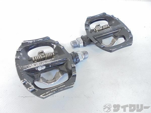 片面ビンディングペダル PD-A530 SPD ブラック ※弱ガタあり