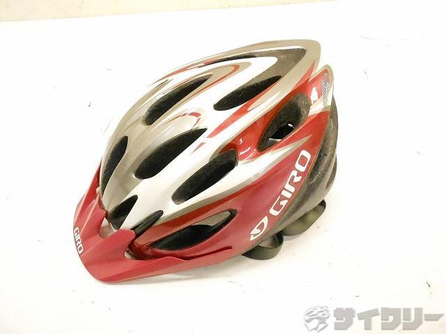 ヘルメット レッド/ホワイト