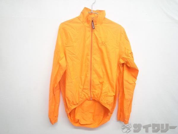 長袖フルジップジャケット Lサイズ オレンジ
