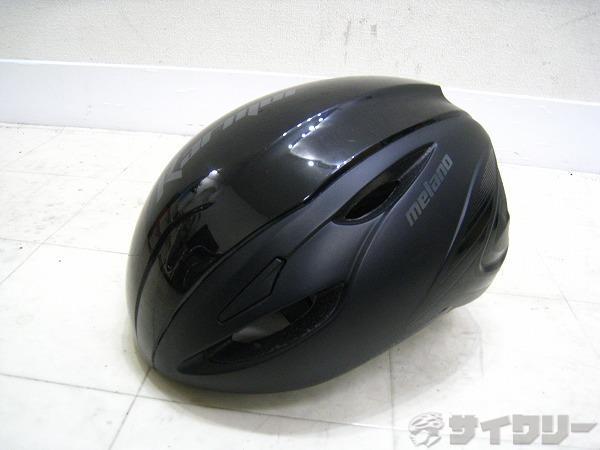 ヘルメット melano サイズ:L(59-60cm) ブラック
