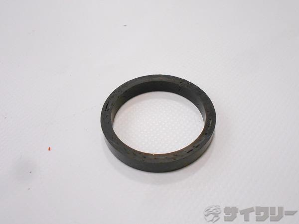 コラムスペーサー カーボン OSコラム用 高さ:5mm