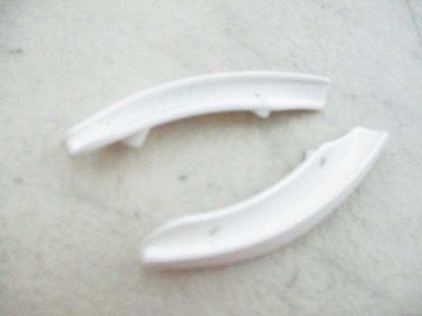 ALIANTE用スカッフガード ホワイト