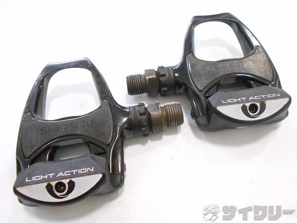 ビンディングペダル PD-R540 ブラック SPD-SL対応 ※左軸微ガタ