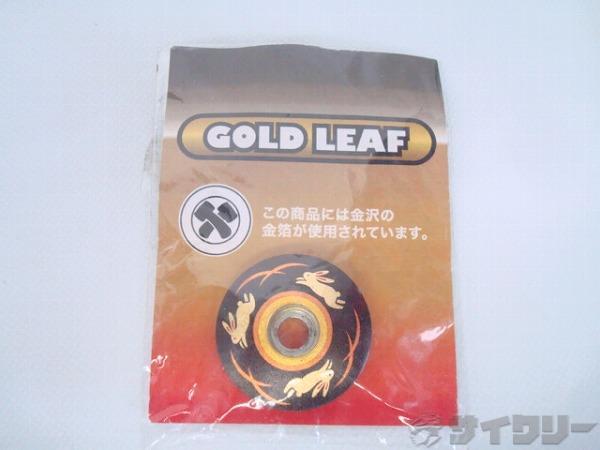 金箔ヘッドトップ キャップ GOLD LEAF OS(28.6φ)