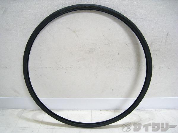 クリンチャータイヤ LUGANO 700x25c ブラック
