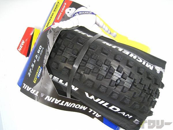 タイヤ WILD AM 27.5x2.60 チューブレスレディ