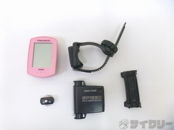 サイクルコンピューター CC-RD300W ※電池欠品