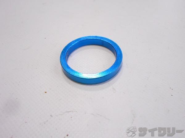 コラムスペーサー ブルー OSコラム用 高さ:5mm