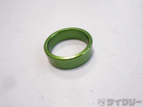 コラムスペーサー グリーン OSコラム用 高さ:10mm