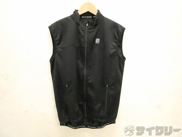 ベストジャケット サイズ:S ブラック