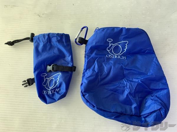 輪行袋型ポーチ ブルー