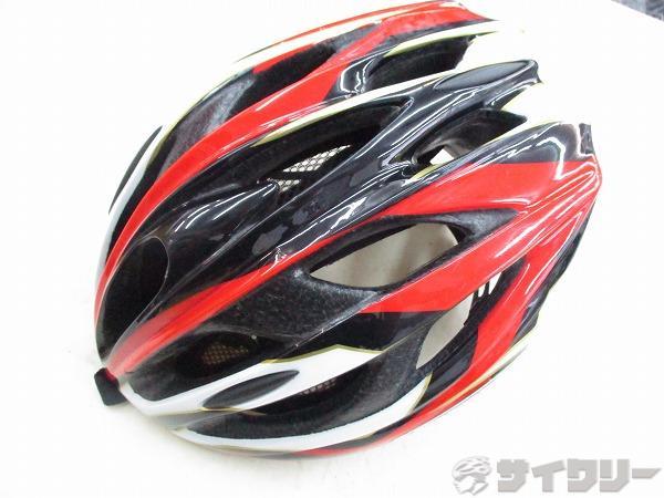 ヘルメット サイズM/L レッド/ホワイト