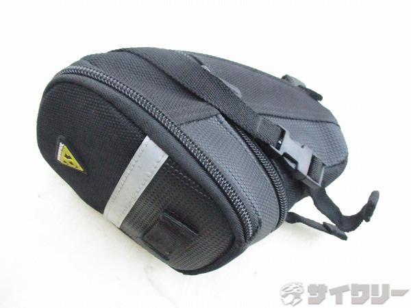 ホツレ サドルバッグ エアロエッジパック ストラップマウント サイズ:M