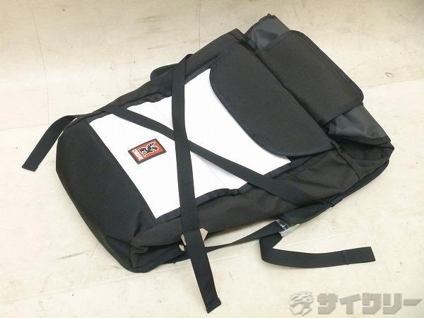 バッグパック ブラック/ホワイト