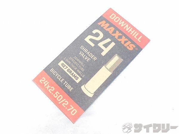 チューブ DOWNHILL 24x2.50-2.70 米式/36mm
