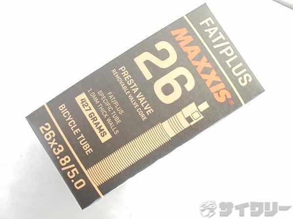 チューブ FAT/PLUS 26x3.8-5.0 仏式/36mm
