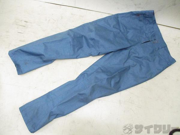 染み MTBパンツ ロング サイズ:L ブルー