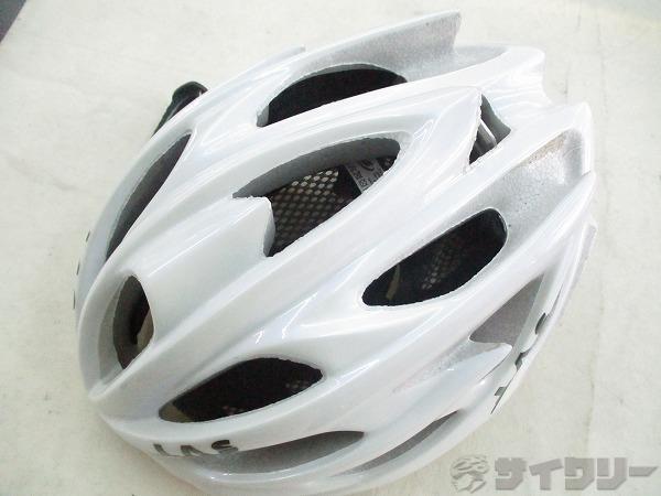 ヘルメット VICTORY サイズ:57-62cm ホワイト