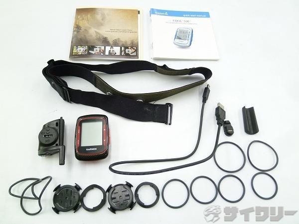 GPSコンピューター EDGE500 カーボン/レッド ※ハートレート機能未確認