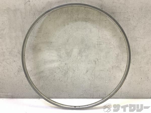 リム シルバー 27×1-1/4 W/O HP 36H 米式