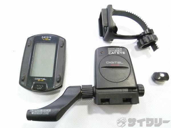 サイクルコンピューター CC-TR200DW V2C ワイヤレス ケイデンス機能有