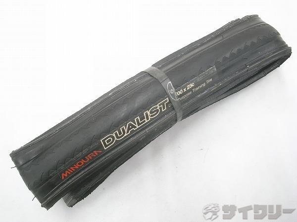 クリンチャータイヤ DUALIST 700x23c