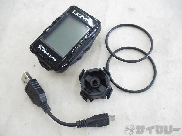 GPSサイクルコンピュータ SUPER GPS 動作確認済み