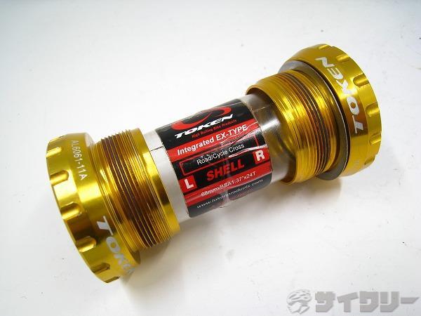 ボトムブラケット TBT 68mm JIS ゴールド