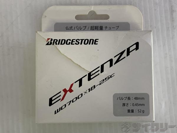 仏式チューブ EXTENZA 700×18-25c 仏式(48mm)