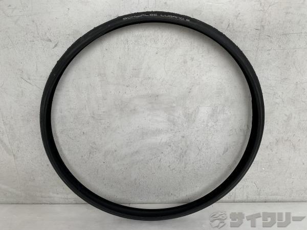 クリンチャータイヤ LUGANO2 28×1.00-700×25C